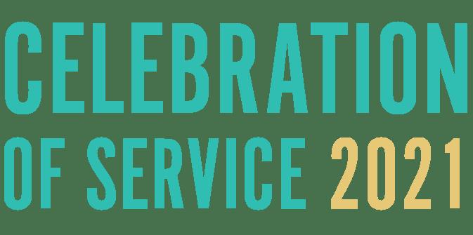 Celebration of Service 2021